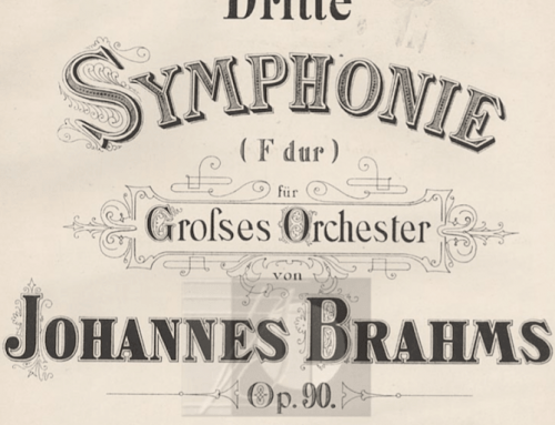Beneath the Surface of Brahms — by Brant Taylor