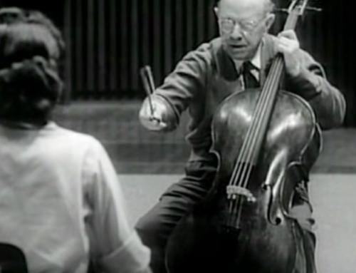 Pablo (Pau) Casals Master Class: Dvořák Cello Concerto (Part 1 of 3)